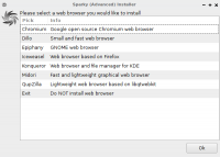 Web Browser Installer