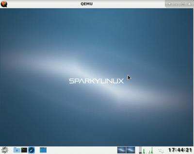 Sparky ARM in QEMU